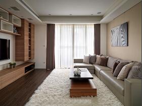 两室两厅简约风格装修 完美的小家