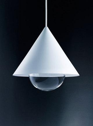 创意led灯饰装修实景图