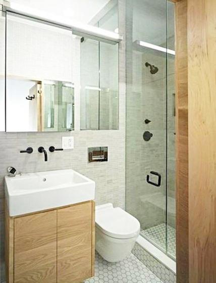 小户型卫生间设计构造图