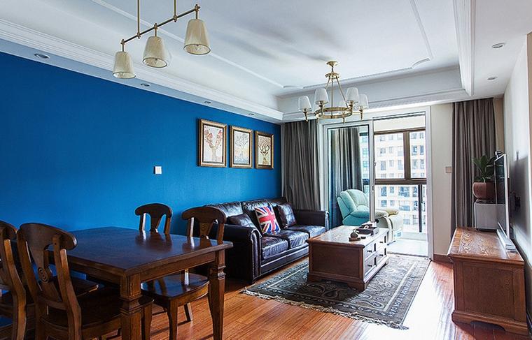 美式装修风格客厅效果图