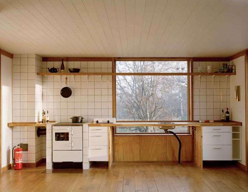 日式厨房装修效果图 这样的设计让你爱不释手