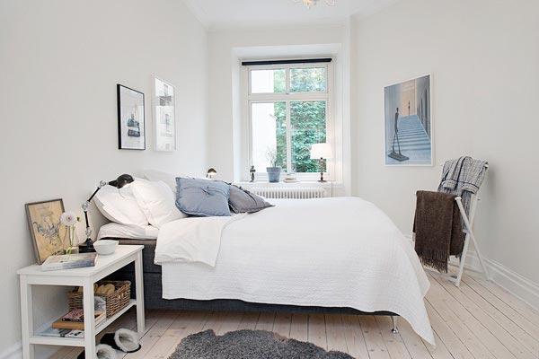 北欧风格卧室设计构造图