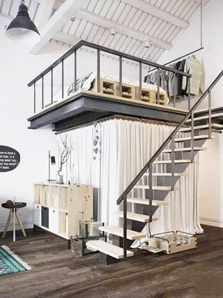 北欧风格楼梯装修图片