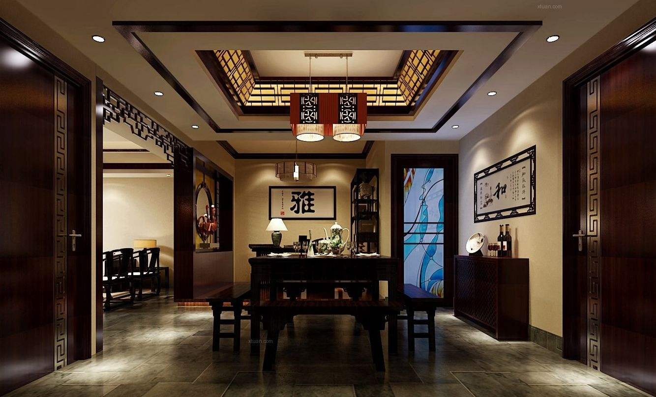 中式装修风格常用元素 有了它们才完整
