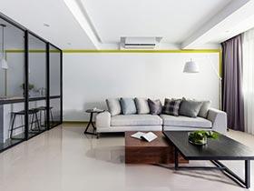 生活小波澜  10款现代简约风格客厅图片