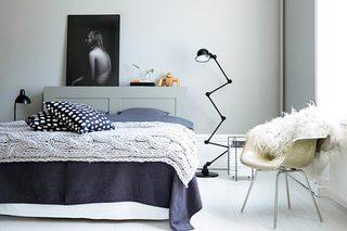 北欧风卧室设计欣赏图