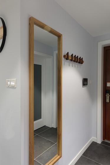 90平北欧风格两居室玄关效果图