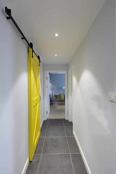 90平北欧风格两居室过道图片