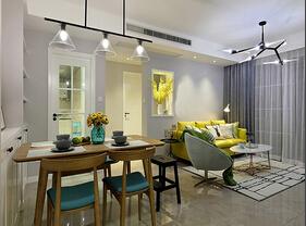 90平美式风格装修 美美的三居室