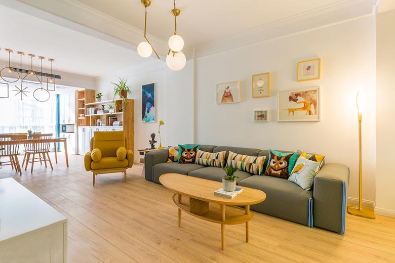 北欧两居室设计实景图