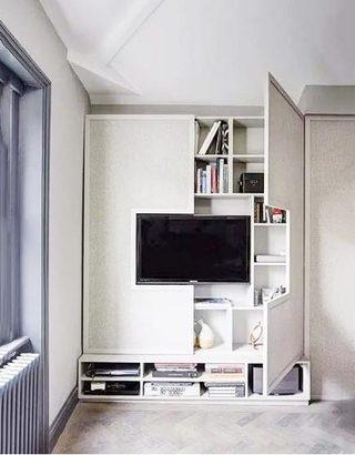 客厅电视背景墙设计参考图