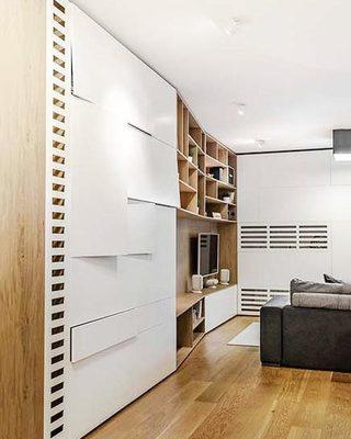 客厅电视背景墙设计图片