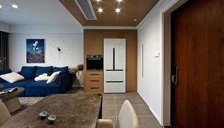 110平简约风格两居室装修过道图片