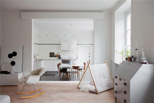 客厅如何隔出一个小卧室 客厅与卧室间的隔断设计