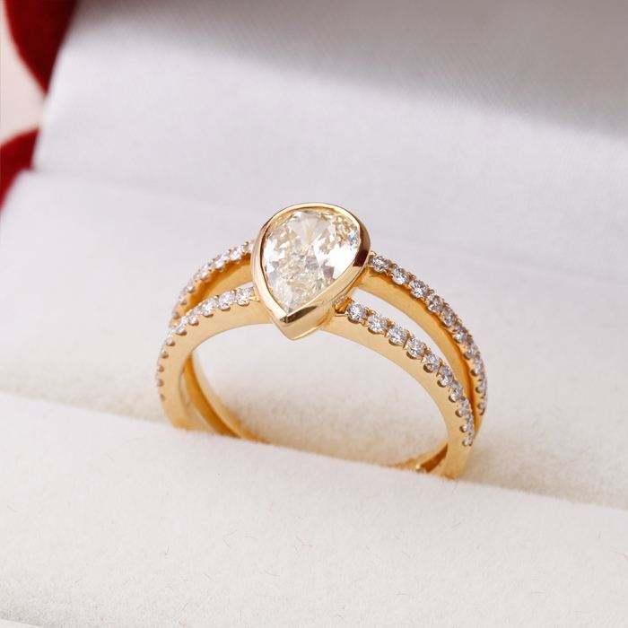 批发戒指哪里最便宜 2017女式金戒指款式有哪些图片