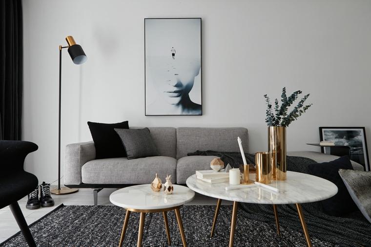 魅力北欧风格装修客厅效果图