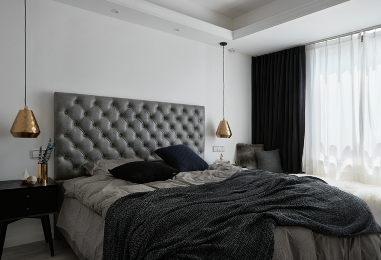 魅力北欧风格装修卧室效果图