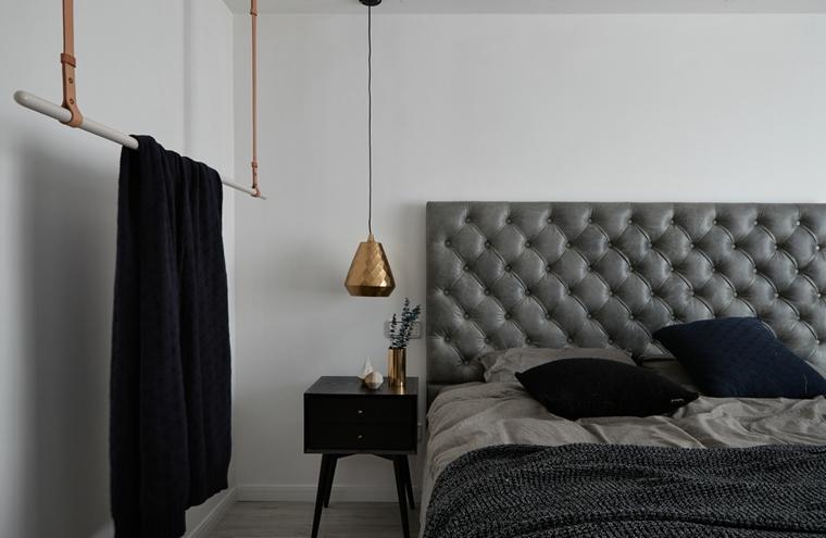魅力北欧风格装修卧室吊灯图片