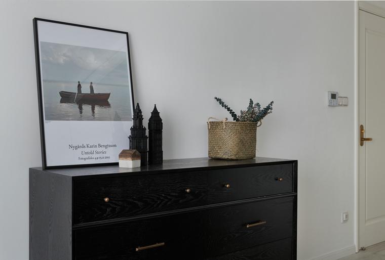 魅力北欧风格装修收纳柜图片