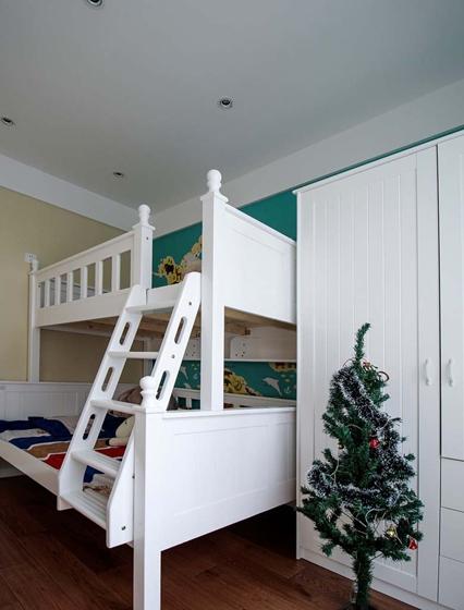 110平简约风格三居室儿童房效果图