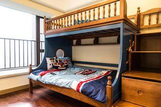 儿童房设计上下床装饰图片