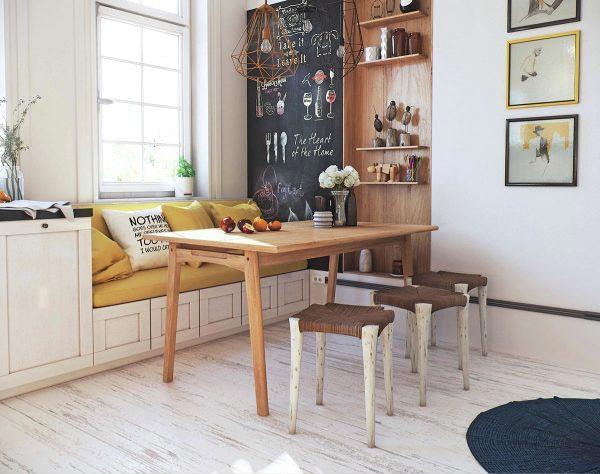 现代风厨房设计平面图