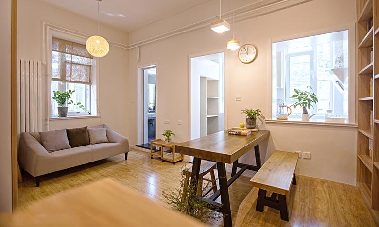 现代简约风格客厅布置图