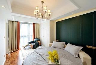 60平米时尚loft装修主卧效果图