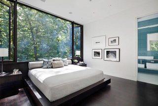 卧室落地窗装修参考图