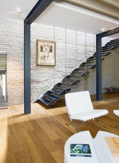 楼梯装修欣赏图
