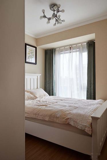 简约质感三居室装修次卧图片