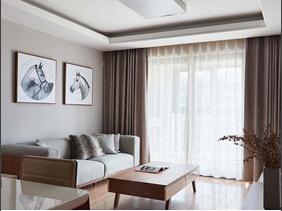 简约质感三居室装修 软装设计是亮点