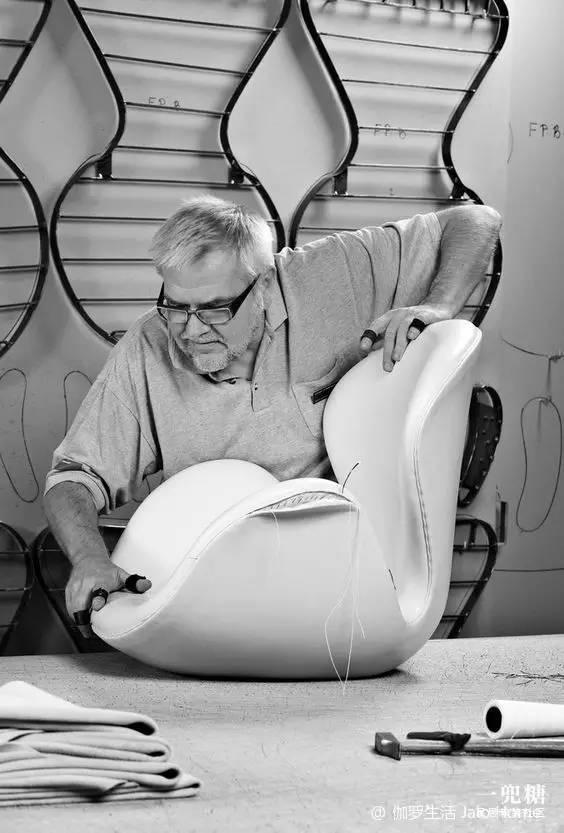 蚂蚁椅,蛋椅和天鹅椅的设计者 雅各布森 arne jacobsen