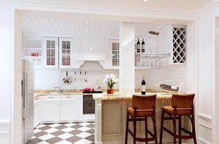 餐厅厨房设计实景图