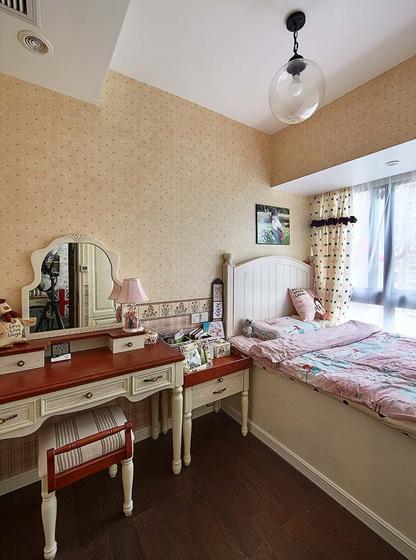 90平四居室装修次卧效果图