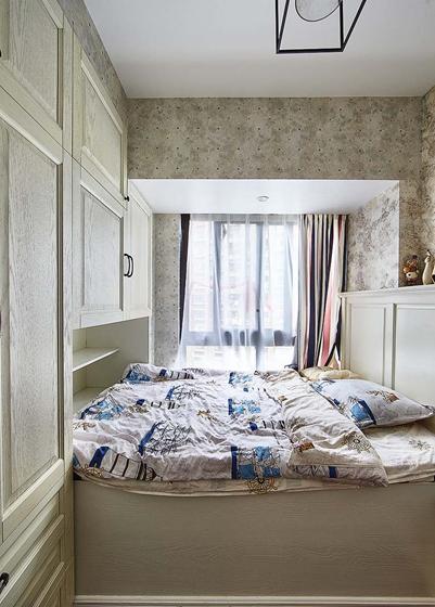 90平四居室装修次卧图片