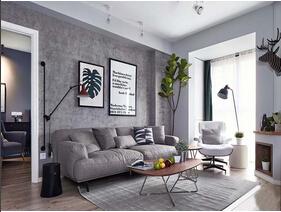 北欧风格三居室装修 简单的美好
