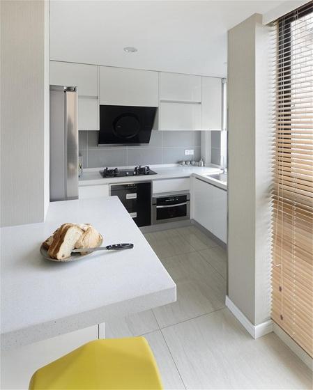 现代风格三居室装修厨房效果图