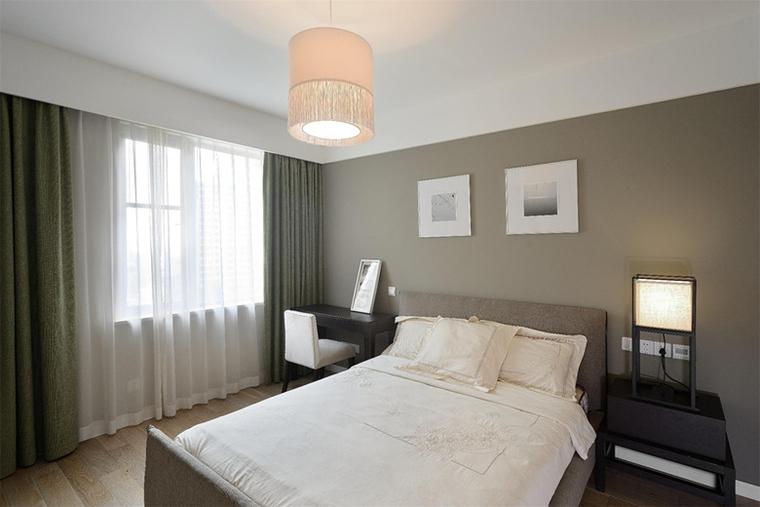 现代风格三居室装修次卧效果图