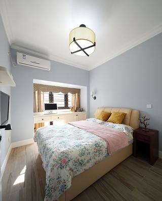 130平三居室装修主卧效果图