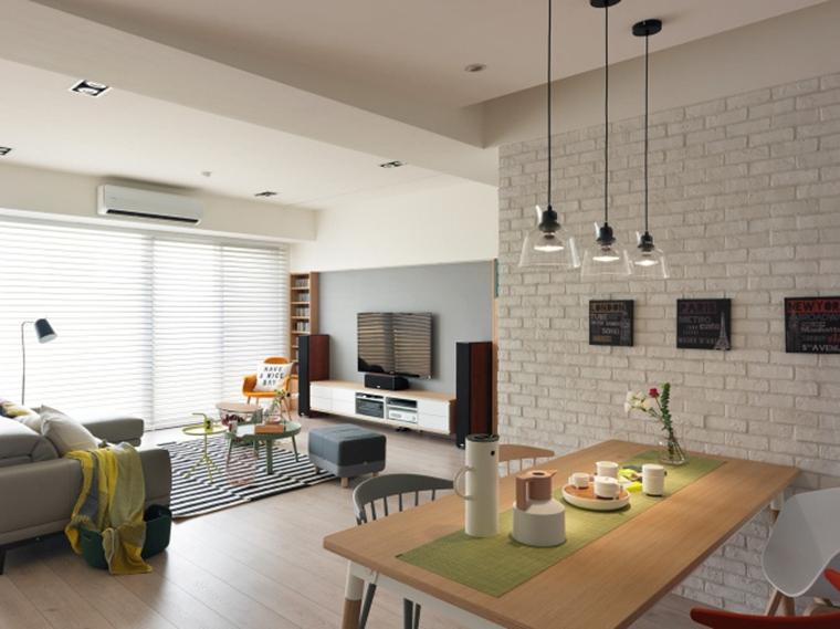 北欧风格三居室装修餐厅吊灯