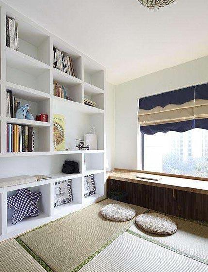 书房榻榻米装修构造图