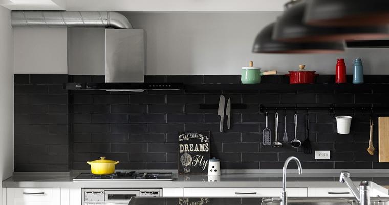 舒适三居室装修厨房效果图