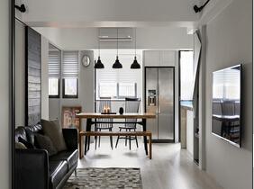 舒适三居室装修 自在的北欧风格设计