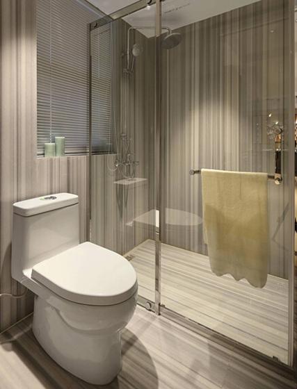 现代简约风格装修卫浴效果图