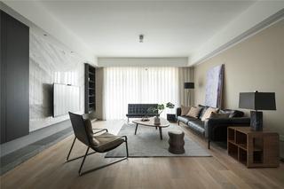 简约风格三居室客厅效果图
