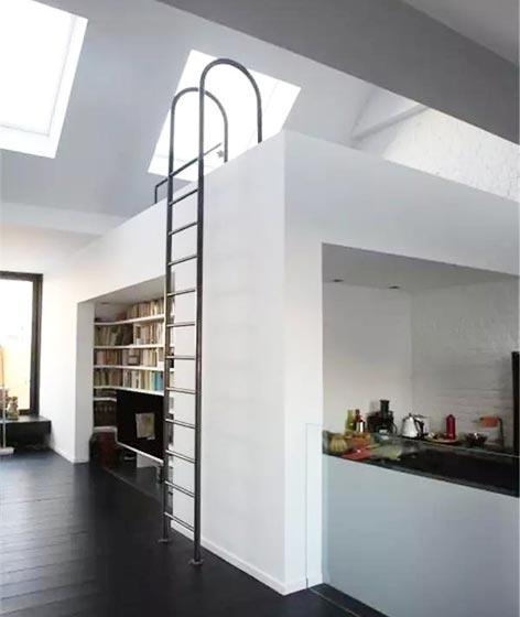阁楼楼梯装修参考图