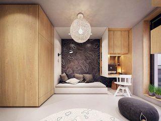 木质清新大户型休闲空间构造图