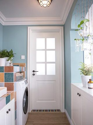 家庭洗衣房实景图