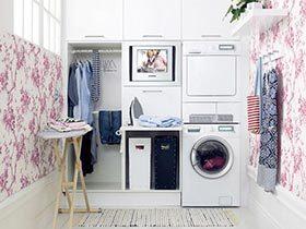 小户型巧妙设计  10款家庭洗衣房实景图